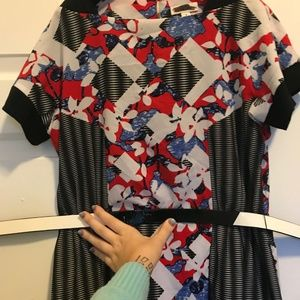 Peter Pilotto for Target red dress size 8